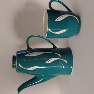 MCM Coffee Pot & Mug